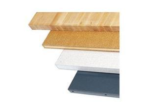 Workbench Top, Wood, 72x30 in., Straight