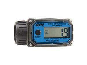 Flowmeter, Electronic, 1 In, 3 to 30 GPM