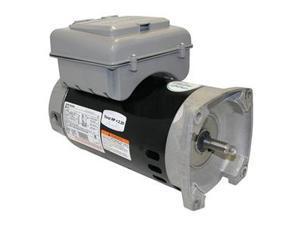 Pump Motor, 3/4, 1/10 HP, 3450/1725, 230 V