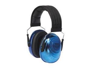 Ear Muff, 25dB, Over-the-Head, Blue