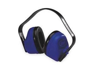 Ear Muff, 27dB, Multi-Position, Black/Blue