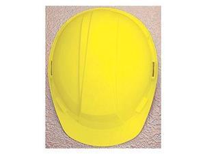 Hard Hat, FrtBrim, Slotted, 4PinLk, Yellow