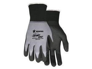 Coated Gloves, Gray/Black, XL, PR