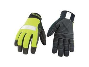 Cold Protection Gloves, L, HiVis Green, PR