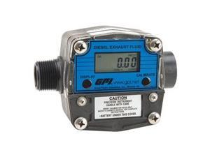 Flowmeter, Electronic, 1 In, 2 to 20 GPM