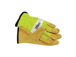 Kinco 908L Lime Mesh Back Work Gloves L