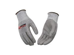 Cut Resistant Gloves, Gray, L, PR