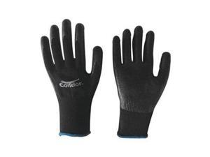 Coated Gloves, M, Black/Black