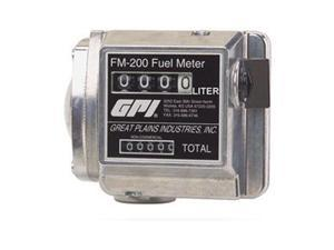 Flowmeter, Mechanical, 1 In, 4 to 20 GPM