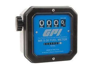 Flowmeter, Mechanical, 1-1/2 In, 5-30 GPM