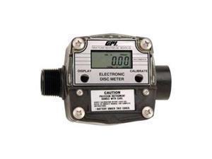 Flowmeter, Nutating Disc, PTB, 1 In FNPT