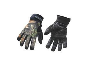 Cold Protection Gloves, L, Camouflage, PR
