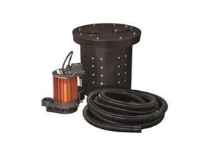 Crawl Space System, 1/2 HP, 115V