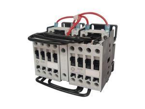 IEC Contactor, Rev, 24VAC, 13.8A, 3P, 1NO
