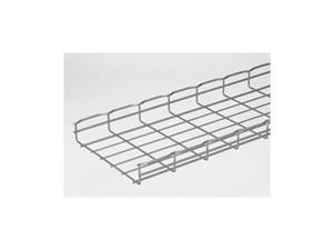 Wire Mesh Cable Tray, W12 In, L 6.5 Ft, PK4