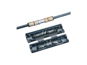 Coax Splice Kit, RG6/RG5-59, 60V, Black