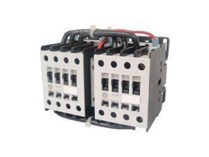 IEC Mini Contactor, Rev, 208VAC, 6A, 3P, 1NC