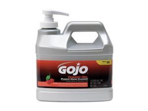 GOJO 2356-04 Gel Hand Cleaner, Cherry, Pump Bottle, Red