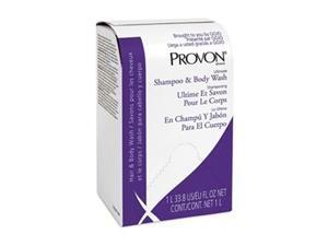 Shampoo and Body Wash Refill,  Herbal Fragrance,  1000mL,  Bag In Box Refill PK,  8