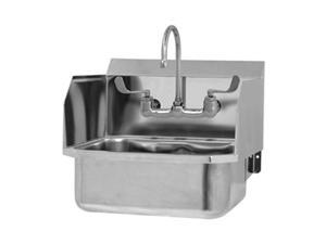 Hand Wash Sink, SS, Wall Mount