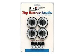 4PK BLK Gas Burner Knob