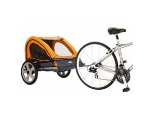Instep Quick 'n EZ Bike Trailer-Double