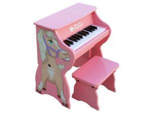Schoenhut 25 Key Piano Pals Horse w/ Bench