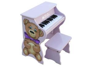 Schoenhut 25 Key Piano Pals Bear w/ Bench