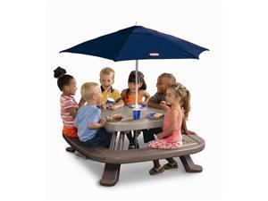 Little Tikes Fold n' Store Picnic Table w/Umbrella