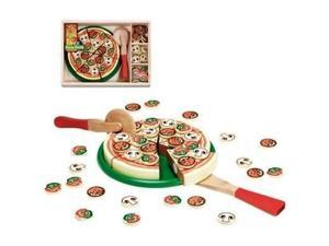 Melissa & Doug : Wooden Pizza Party in a Box