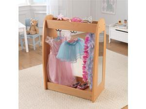 KidKraft Dress Up Unit - Natural with Hooks