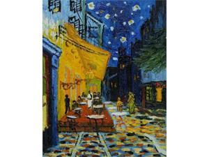 Van Gogh Paintings: Cafe Terrace at Night - Hand Painted Canvas Art