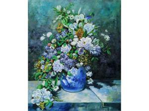 Renoir Paintings: Grande Vase Di Fiori - Hand Painted Canvas Art