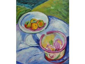 Still Life - Hand Painted Canvas Art