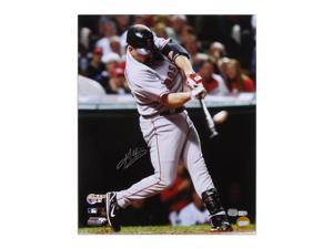 "Kevin Youkilis Boston Red Sox 2007 ALCS Home Run Autographed 16"" -Item #84653"