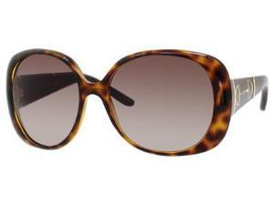 Gucci 3536/S Sunglasses (In Color-Havana/brown gradient)
