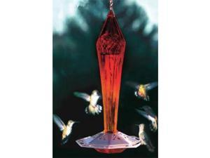 Schrodt Faceted Ruby Hummingbird Feeder
