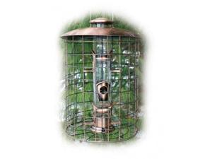 Woodlink Audubon Series Coppertop Cages 6-Port Seed Feeder