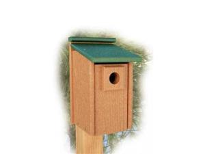 Woodlink Audubon Series Going Green Bluebird House