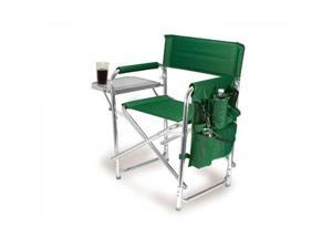 Picnic Time - Green Portable Folding Sports/Camping Chair