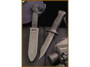 """Ontario ON497 Knives Fixed Knife Black Finish Mark 3 Navy Knife 10 7/8"""" Overall"""