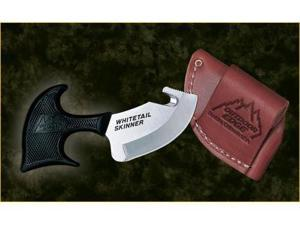 Outdoor Edge Whitetail Fixed Blade Skinner with Leather Sheath