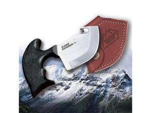 Outdoor Edge Game Skinner Fixed Blade Knife with Leather Sheath