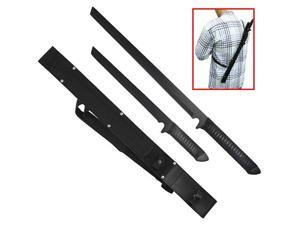 Twin Sword Ninja Set with One Sheath