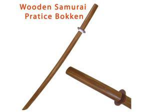 Solid Wood Practice Samurai Bokken