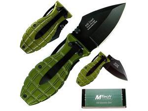 Folding Green Beret Grenade Knife 6.125 inch