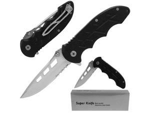 Resilient Stainless Single Blade Assist Folder w/ G10 Handle