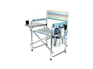 Picnic Time St. Tropez Portable Folding Sports/Camping Chair