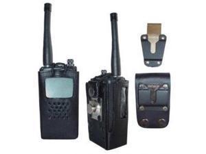 HL21 Hard Leather Carry Case for Kenwood Radios