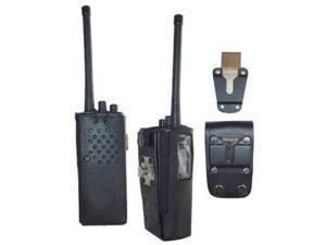 HL27 Hard Leather Carry Case for Motorola GP300 / P1225 Radio